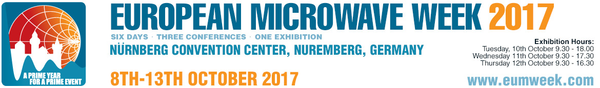 EUROPEAN MICROWAVE WEEK (EuMW) 2017